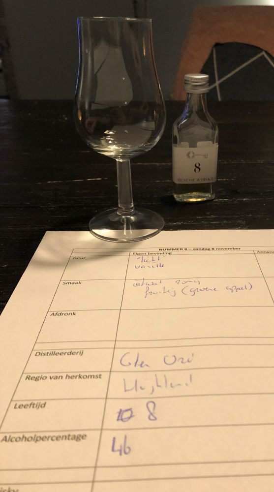 Blind Tasting Competition - no 8